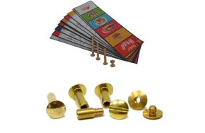 BINDING BRASS SCREWS